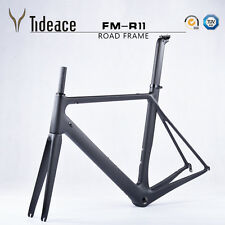 Full Carbon Fiber Road Bike Frame BSA Carbon Bicycle Frameset 49/51/54/56/58