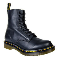 Dr Martens Footwear - Black Pascal Leather Boots - Unisex Alternative DM Shoes