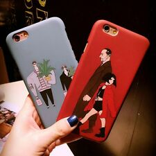 Cartoon Killer Movie Matte Hard PC Back Case Cover For Apple iPhone 6s 7 Plus 5s