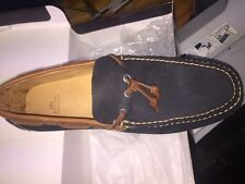 Peter Millar casal driving moccasin moc shoe MS16F04 NAVY color