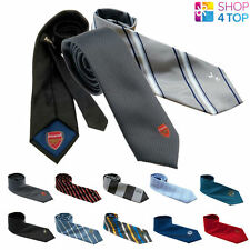 FOOTBALL SOCCER CLUB TEAM FC MENS TIE NECKTIE NECK POLYESTER OFFICIAL LICENSED