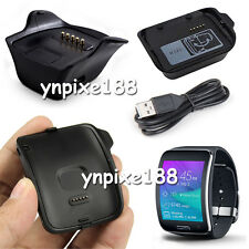 New Black Charging Dock Charger Cradle For Various Samsung Galaxy Smart Watch