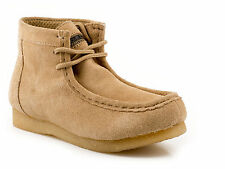 Roper Womens Casual Sand Suede Leather Performance Gum Sole Ankle Chukka Boot
