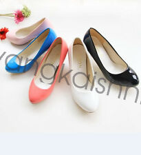 Fashion Women New Pumps High Heels Party Wedding Shoes Lager Size 4-12.5 OD500