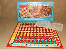 Outpoint Skill Family Game By Spears Boxed And Complete Vintage 1985
