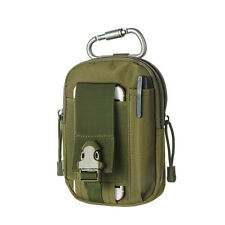 Portable Small Tactical Molle Pouch EDC Bag with Cell Phone Holster Holder
