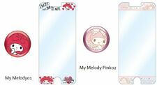 My Melody Screen Protective Sticker,Aluminum Home Button Sticker Set of 2