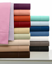 Elegant Bedding Collection 1000 TC Egyptian Cotton UK Emperor Size All Solid