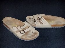 Classic Birkenstock Sandals tan 2 Buckles 37 US 6-6½