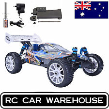 HSP Rc Car 1/8 Scale 4wd Nitro Power Remote Control Troian Off Road Buggy 80101