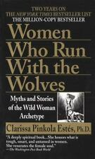 Women Who Run with the Wolves by Clarissa Pinkola Estés (1996, Paperback) FF2159