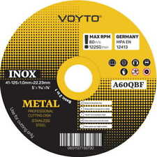 """Top Quality Metal Cutting Discs 1mm Extra Thin 5"""" 125mm Angle Grinder Disc Steel"""