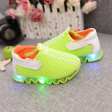 New children's light shoes Led toddler shoes students flash shoes baby shoes
