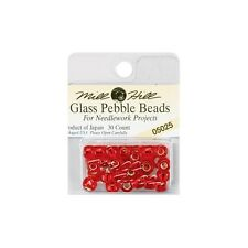 Mill Hill Glass Pebble Beads 30/Pkg. Shipping is Free