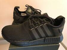 Adidas Mens NMD Nomad R1 BY3123 TRIPLE BLACK REFLECTIVE Boost runner ultra yeezy