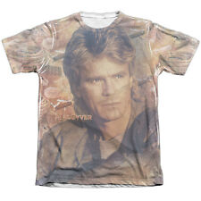 MacGyver TV Show TOOLS OF THE TRADE 1-Sided Big Print Poly Cotton T-Shirt