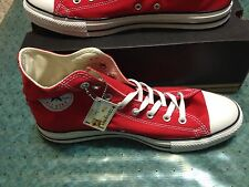 Converse All Star Chuck Taylor Hi Top Men's sizes  Red  M9621