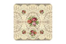 New designs practical 4 placemats set 4 coasters Vintage Michal negrin  floral