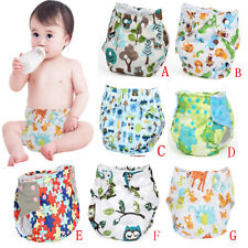 Washable Reusable Adjustable Baby Waterproof Pocket Cloth Nappy Diaper Cover New