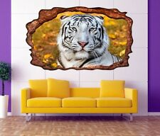 3D Mural tattoo Tiger Bengal Animal Picture Wall stickers 11F644