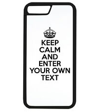 PERSONALISED YOUR TEXT KEEP CALM AND CUSTOM Phone Case iPhone Cover