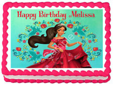 ELENA OF AVALOR Image Edible Cake topper Party decoration