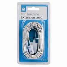 Telephone Extension Cable Lead Wire Cord For All Lines BT SKY Cables Kit Metre