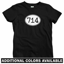 Area Code 714 Kids T-shirt - Baby Toddler Youth Tee - Orange County Anaheim Cali
