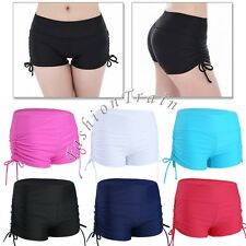 Sexy Women's Shorts Plain Bikini Swim Pants Style Briefs Bottoms Beach Swimwear