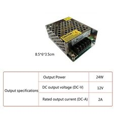 Switching Power Supply 12V 10A 120W AC100-240V to DC12V 10A Led Driver adapter