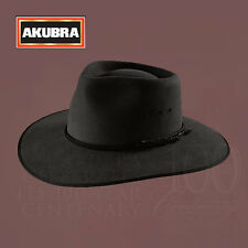 AKUBRA Hats Aussie Icon Premium Hat Collection CATTLEMAN in Graphite Grey Colour