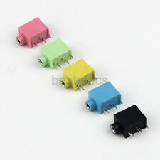 10pcs 3.5mm Stereo Female Socket Audio Jack 5Pin PCB Panel Mount Connector