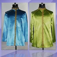 Star Trek TNG Jean-Luc Picard Blue/Green Uniform Outfit Cosplay Costume Jacket