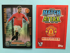 07 08 2007/08 RONALDO MATCH ATTAX LIMITED EDITION FOOTBALL CARDS TEVEZ ANELKA