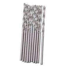 10pcs Mini Micro Steel HSS Spiral Drill Twist Drill Bits Set Home Drilling Tools