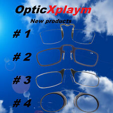 101% Authentic OPTICS Xplaym Metal Reading Glasses Strength Nose Case Nooze Thin