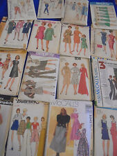 SEWING PATTERNS U PICK  DRESS MINIDRESS TOPS PAJAMS SOME PLUS MORE THAN PICTURED