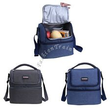 Travel Work School Picnic Lunch Box Tote Hot Cold Insulated Thermal Cooler Bag