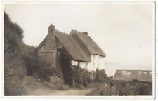 CHURCH COVE The Lizard, Cottage, RP Postcard Unposted July 1936