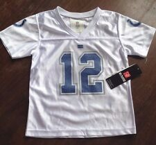 NFL Jersey Andrew Luck Toddler 12 Indianapolis Colts Team Apparel White FREESHIP