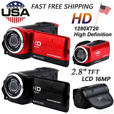 "2.8"" TFT LCD 16MP HD 720P Digital Video Recorder Camera 16x Digital ZOOM DV HOT"