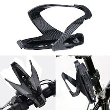 Outdoor Cycling Bicycle Carbon Fiber Water Bottle Drinks Holder Cages Rack XP