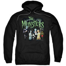 Munsters TV Show Family Portrait 50 YEARS 1313 Mockingbird Ln Sweatshirt Hoodie