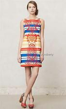 NEW Anthropologie Tabitha Banded Totem Shift  Size 0-2-10