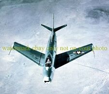 USAF North American XF-86 Sabre Color Photo Military Air Force Vet F 86