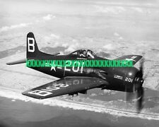 USN Grumman F8F Bearcat Photo Navy Military Fighter Aircraft USN Plane Piston