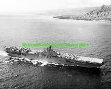 USN Carrier USS Valley Forge CV-45 Black n White Photo Navy Military  1949 CV 45