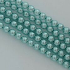 Glass Pearl Round Blue 2 3 4 6 mm Celeste 24644 Czech Beads