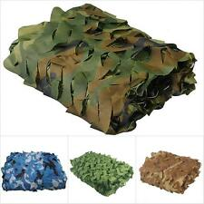 3D Woodland leaves Camouflage Camo Army Awning Net Netting Camping Military Hunt