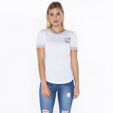 Rip Curl 1970 Ringer T-Shirt  in White